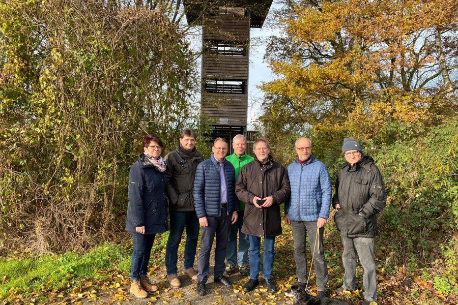 Fraktion der SPD Selm in der Ökostation zu Besuch