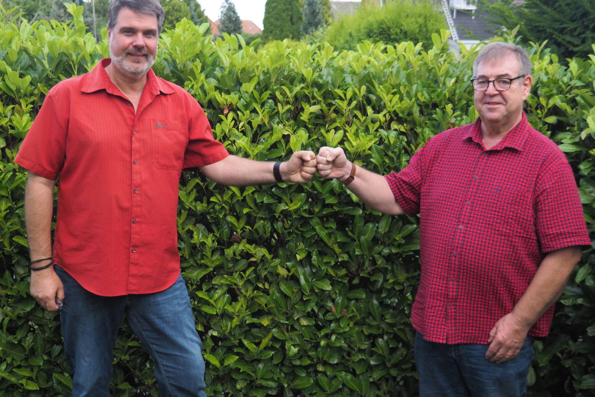 Michael Thews und Rolf Ohligschläger